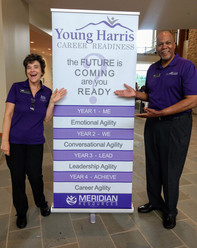 Young Harris College. Melvin and Claudia at Freshman Orientation.