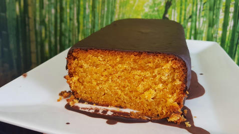 Brazilian carrot and chocolata cake