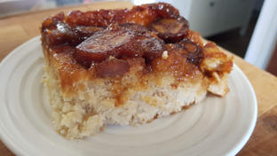Caramelized Banana - Inverted Cobbler - Orders only