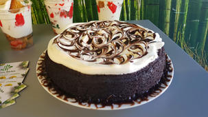 Gluten Free chocolate and cream cake