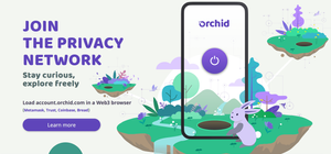 Orchid VPN lessons on coinbase earn