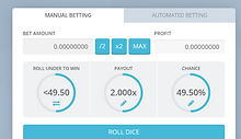 Dice Games | Bitcoin Gaming Online