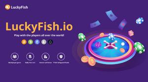 Luckyfish.io is provably fair crypto casino