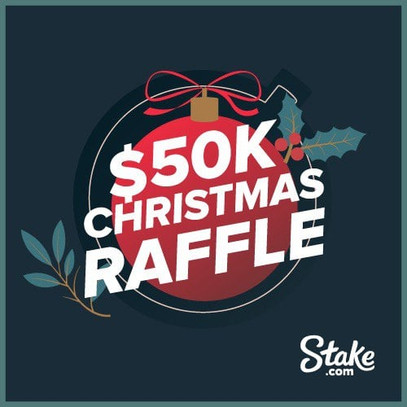 $50,000 Christmas raffle at Stake casino