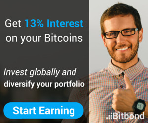 bitbond - get 13% interest on your bitcoins