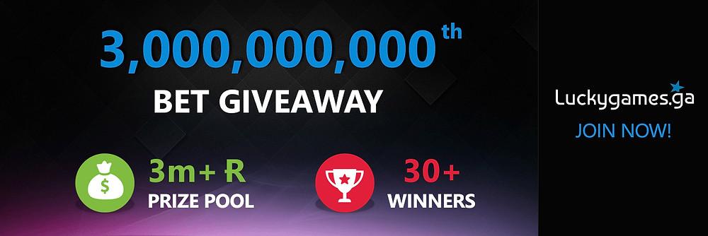 luckygames.io giveaways