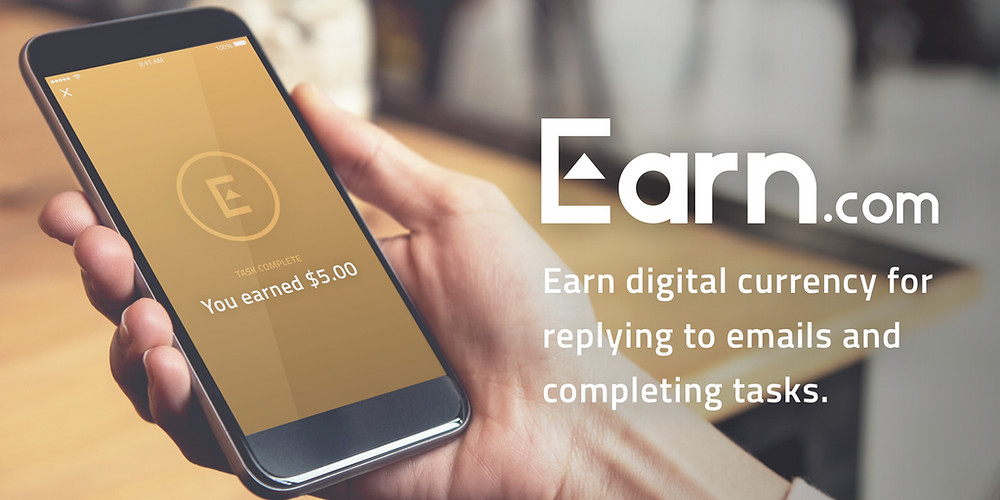 Earn | Earn bitcoin for completing tasks
