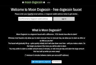 moondoge faucet