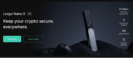 ledger nano x hardware wallet