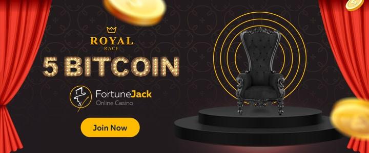 Royal Race tournament at fortunejack.com