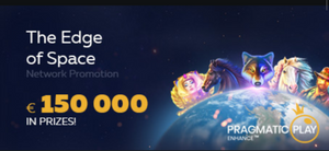 The edge of Space slot contest at Fortunejack casino