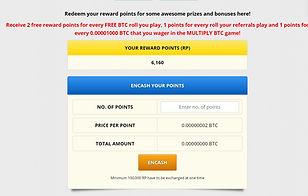 freebitco.in reward points