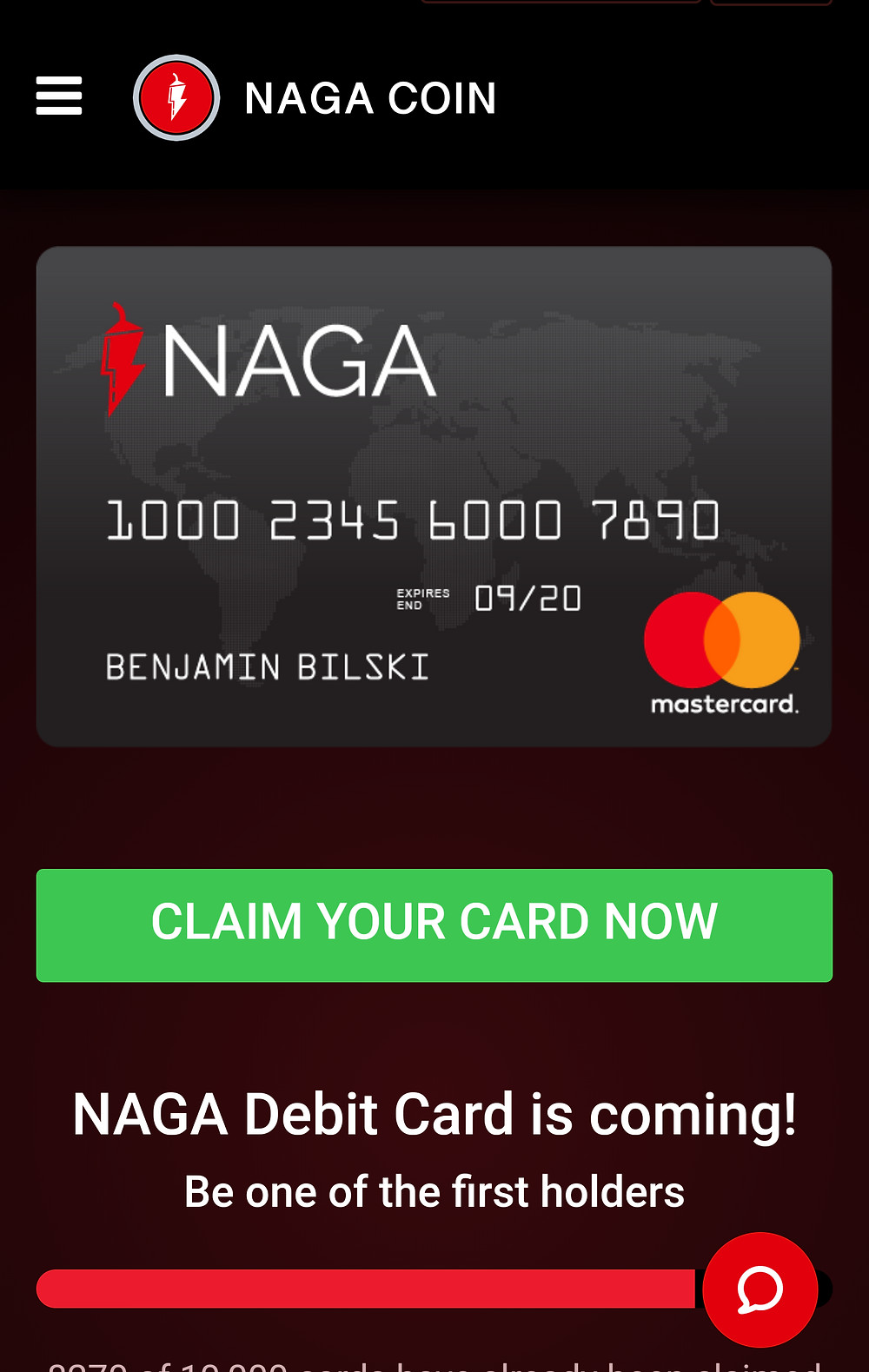 the Naga Coin is a cryptocurrency token tradable on exchanges like hitbtc and binance