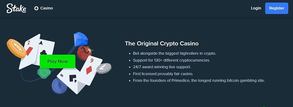 Stake Casino - the original crypto casino