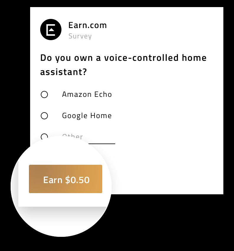 Earn.com - how to answer messages and complete tasks