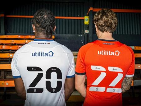 Back of the Shirt Sponsors - Utilita