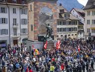 Altdorf sendet eine Freiheitsbotschaft in die ganze Welt