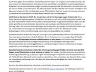 Aktionsbündnis Urkantone kritisiert Corona-Massnahmen der Regierung