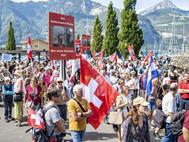 Kundgebung in Uri: «Die Maske ist der neue Gesslerhut»