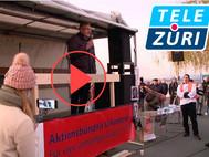 TeleZüri: Nach Lachner Corona-Demo Redner angezeigt