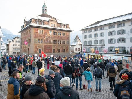 Zusammenfassung aller Referate auf der Kundgebung in Schwyz am 9. Januar 2021