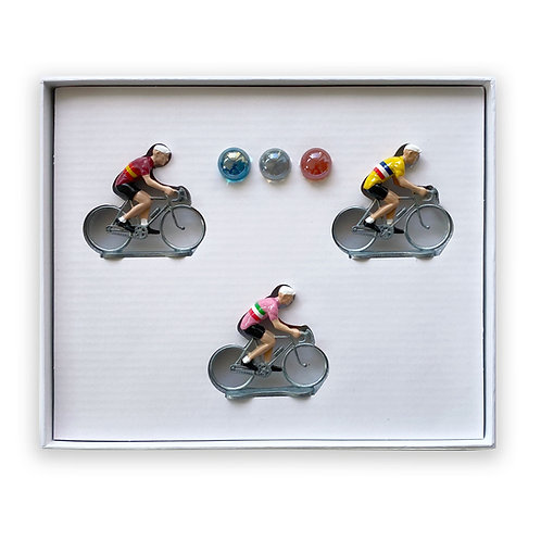 Coffret 3 tours :  Vuelta / Tour de France / Giro