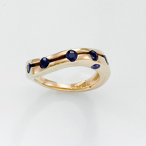 Gold & Sapphire Ring