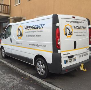 Vincent Mougenot TP travaux public  illico perso la bresse personnalisation tous supports communication visuelle hautes vosges