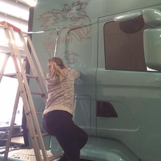 Personnalisation camion  illico perso la bresse personnalisation tous supports communication visuelle hautes vosges