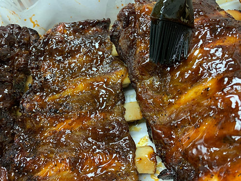 Barbecue Beef Back Ribs ( 1 rack - 3 Lbs Aprox)