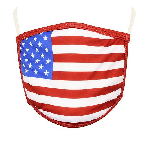 USA Flag Face Mask