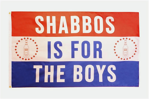 Shabbos Is For The Boys Flag