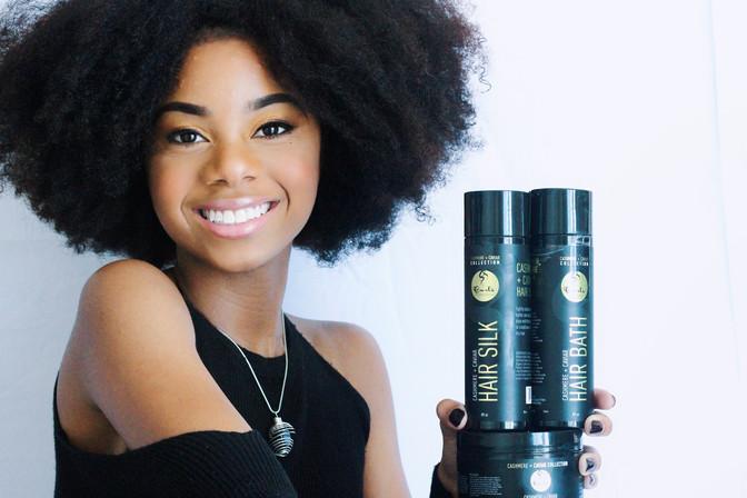 Curls Cashmere and Caviar Campaign