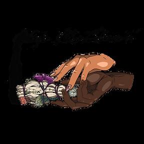 Sage Me Down Hand Logo Black.png