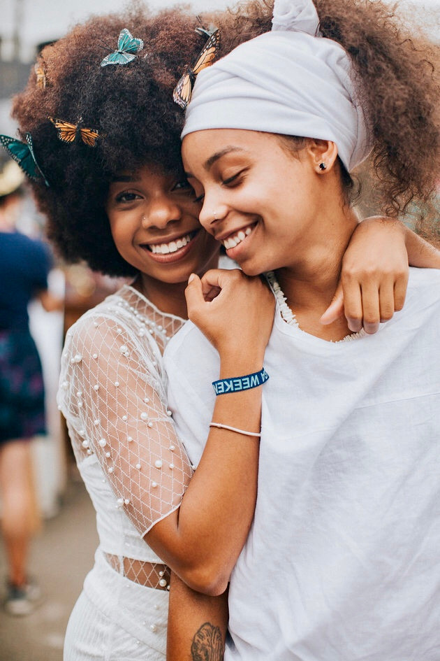 AfroPunk love... featuring me and my lover