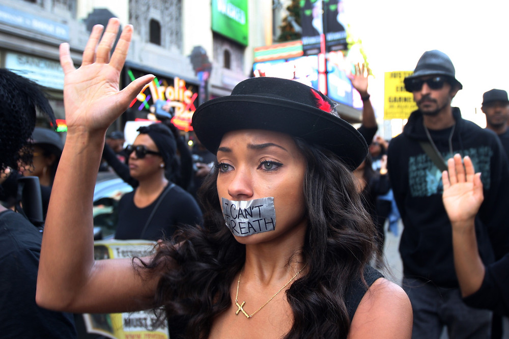 Black lives matter protest- I do not own this photo