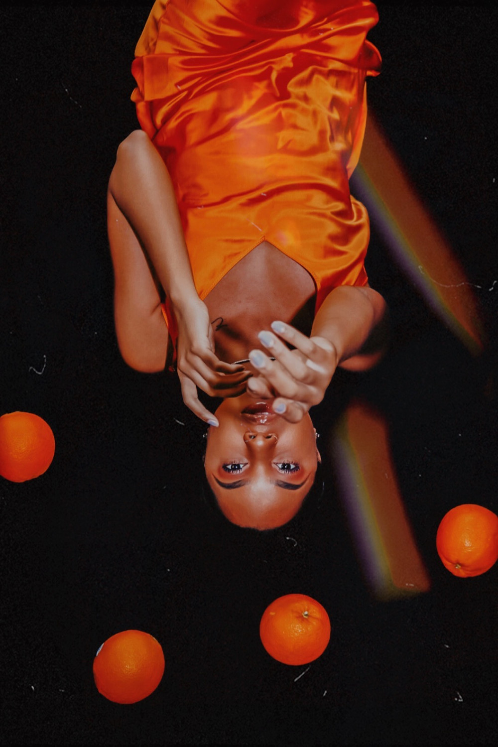 This image was captured to portray the balance and awakening of sacral energy and chakra alignment. This image was shot in collaboration of Anii Cooper with Sage Me Down and Dashlyn Johnson with The Ladie Plug.