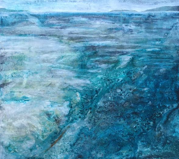 January, Churning sea