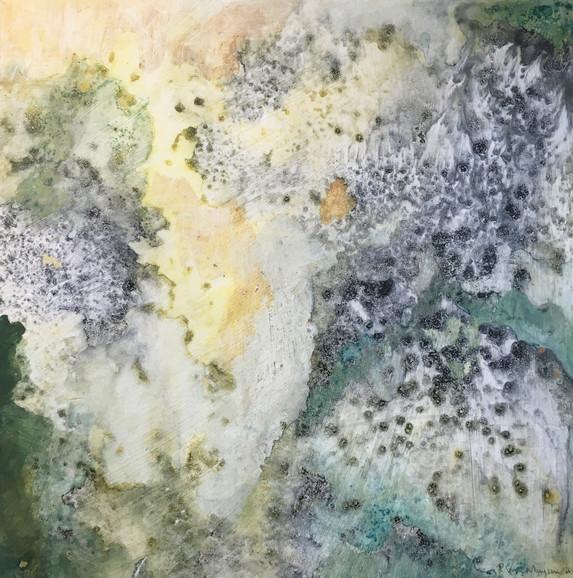 Granite on Moss I