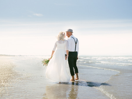 A Romantic Beach Engagement Session in France
