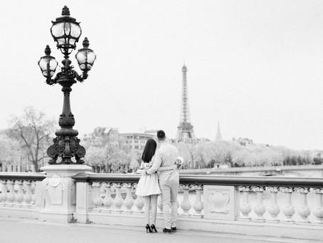 Une inoubliable demande en Mariage à Paris...