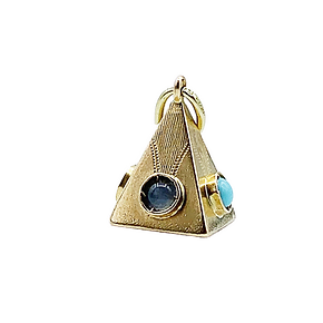 18ct gold pyramid charm.png