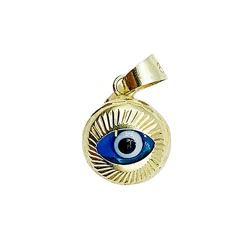 Vintage 14ct Gold Evil Eye Charm