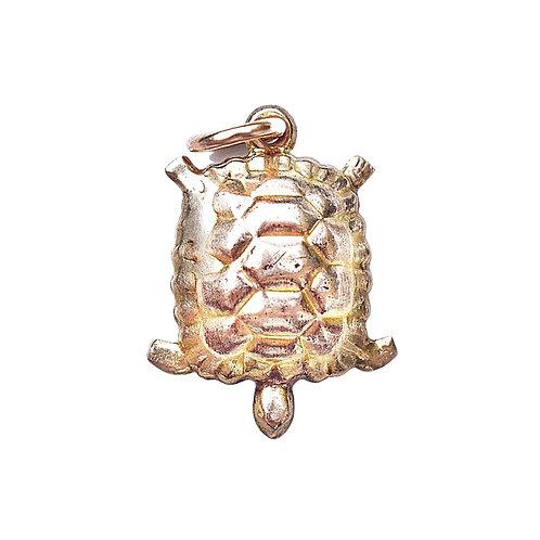 Vintage 9ct Gold Turtle Charm