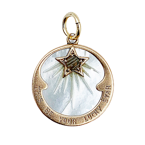 Smaller 'This Be Your Lucky Star' Talisman Charm
