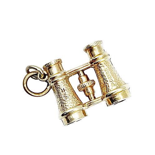 A Detailed Gold Pair Of Novelty Vintage Binoculars