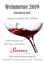 Weinmesse Seifried II 2019