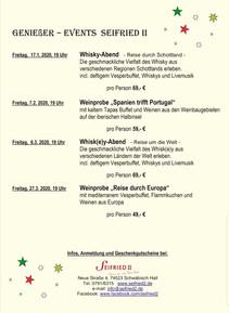 Events Seifried II