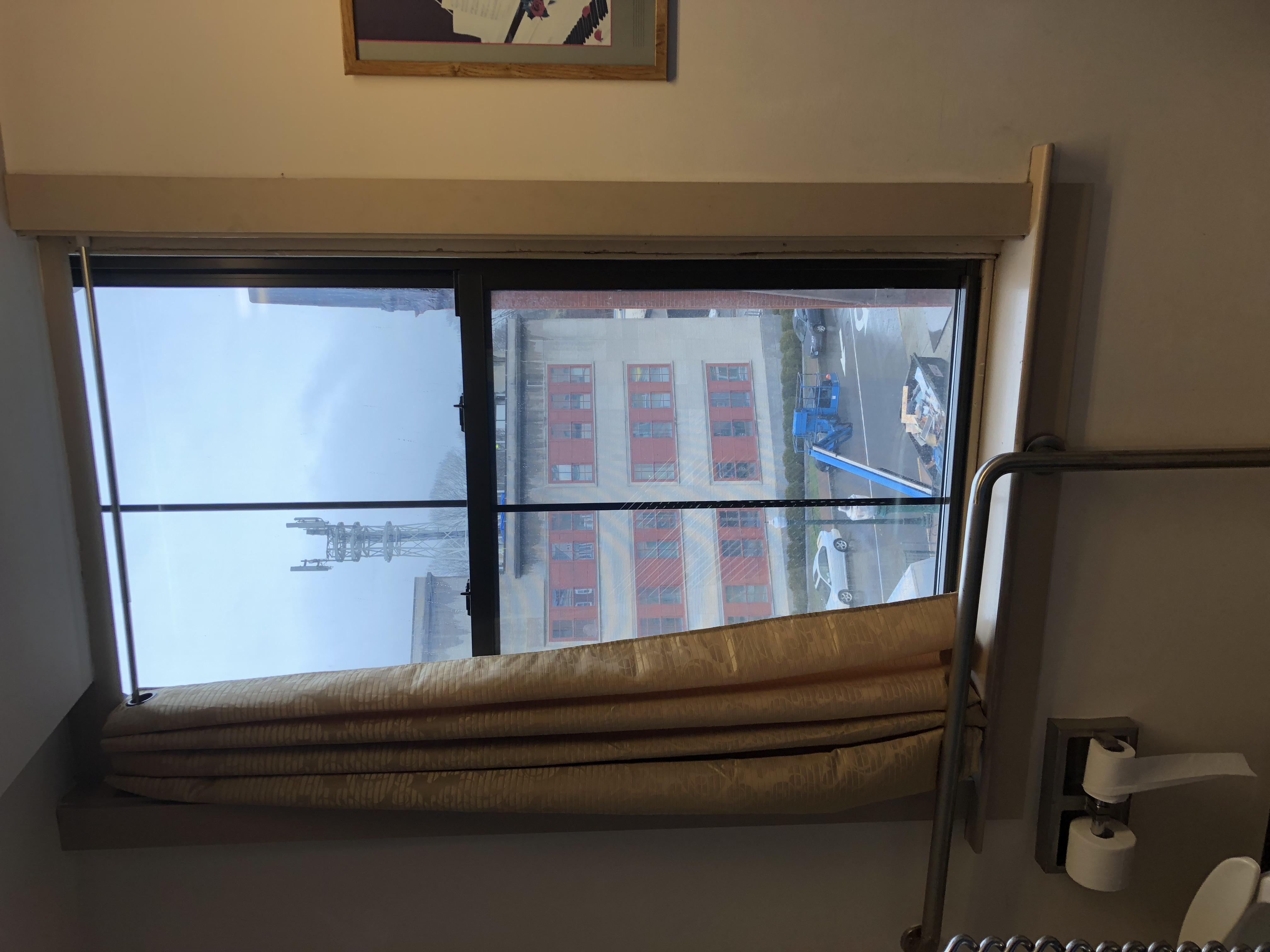 before window