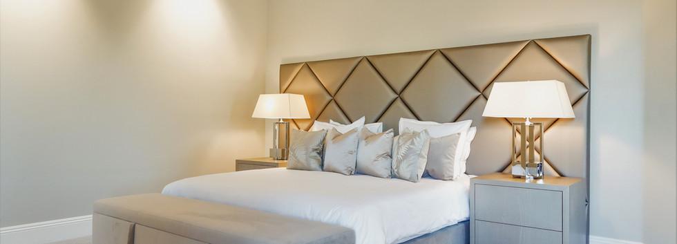 Master bedroom Eric Kuster furniture